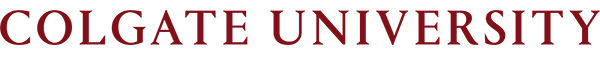 Colgate University email wordmark
