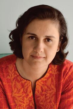 Kamila Shamsie portrait