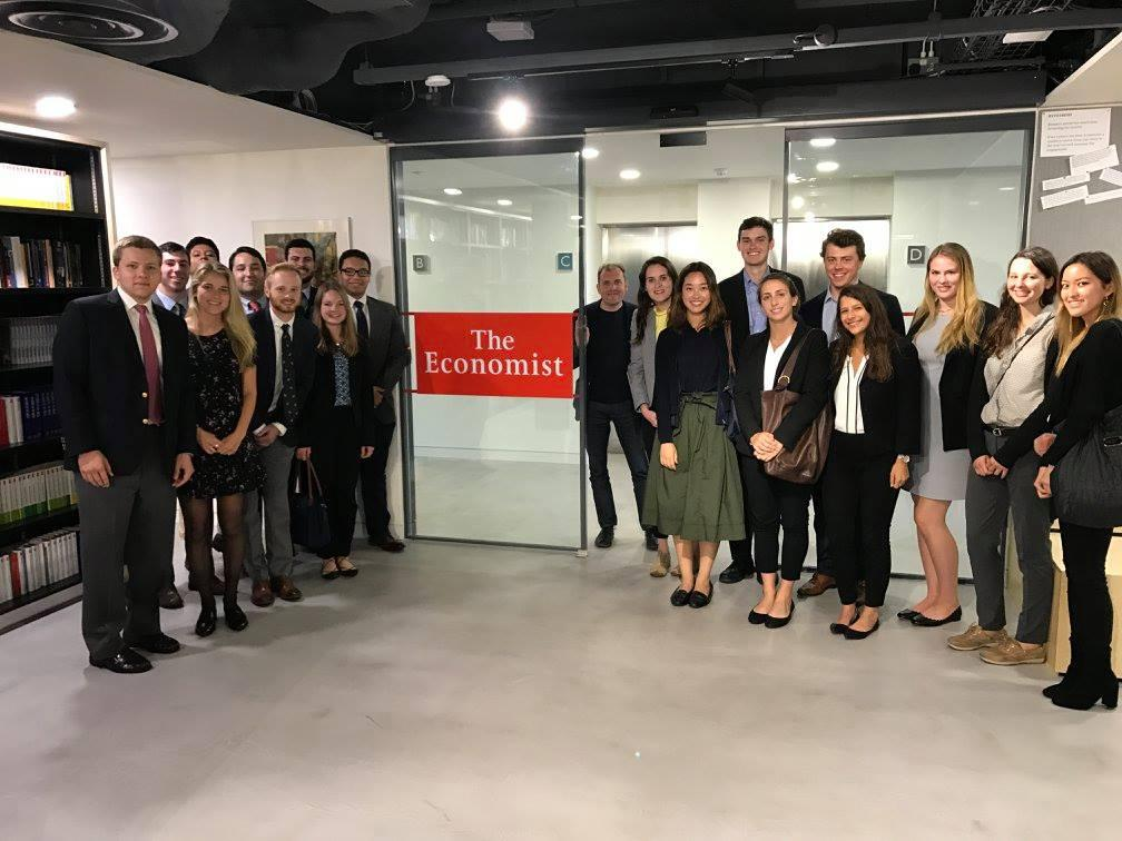 London Econ Group at Economist