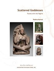 "Book cover of ""Scattered Goddesses"" by Padma Kaimal"