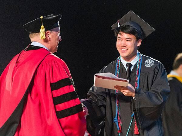 Hamilton College Graduation 2020.Commencement Colgate University