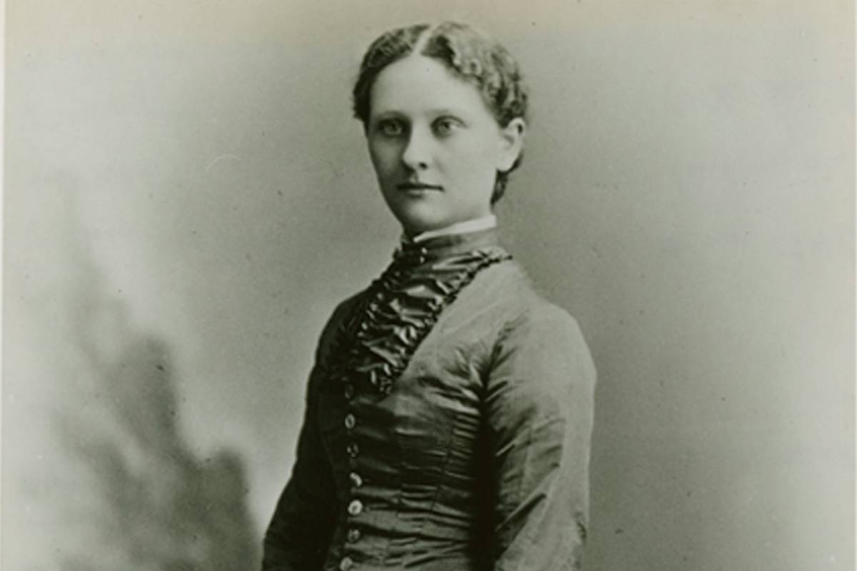 Mabel Dart, who attended the university, then called Madison, from 1878 to 1882.