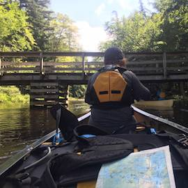 Colgate students on wilderness adventure