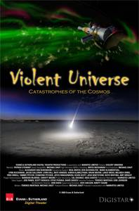 movie poster of an asteroid hitting a planet