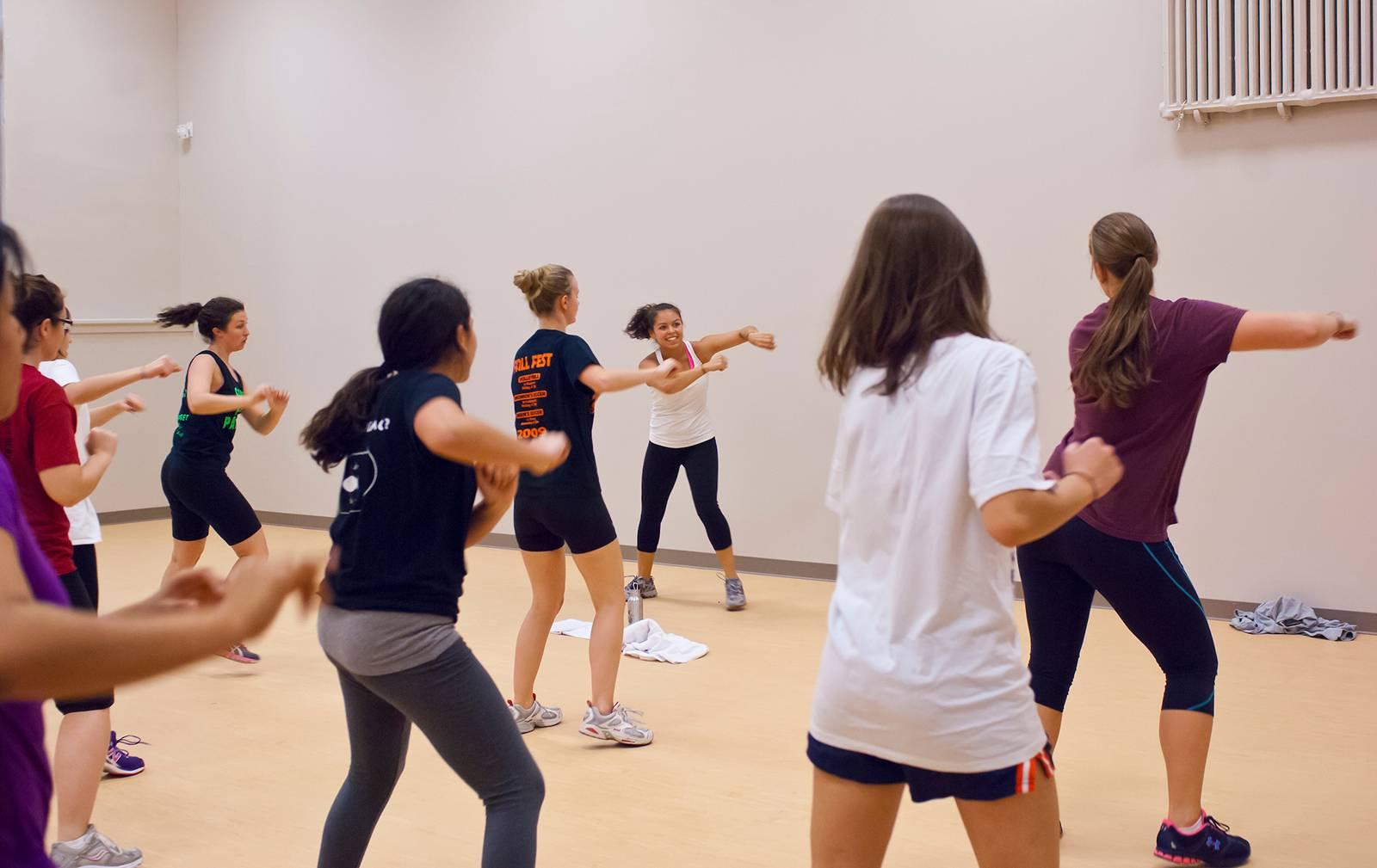 Gate Fitness Classes   Colgate University