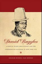 Book Cover for David Ruggles featuring Ruggles illustrated in a top hat