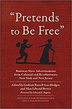 "Book cover of ""Pretends to be Free"""