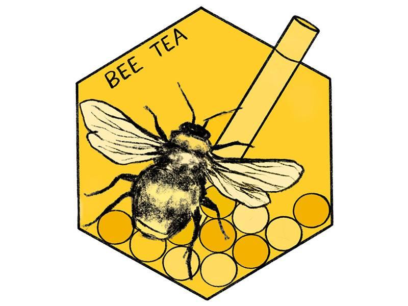 bee tea logo