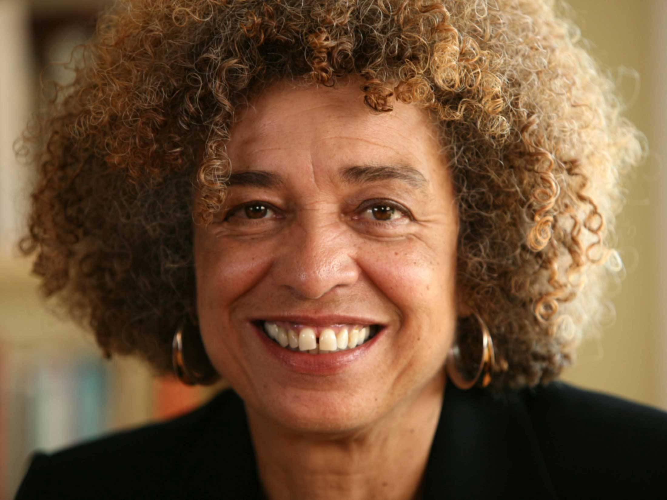 Portrait of Angela Davis