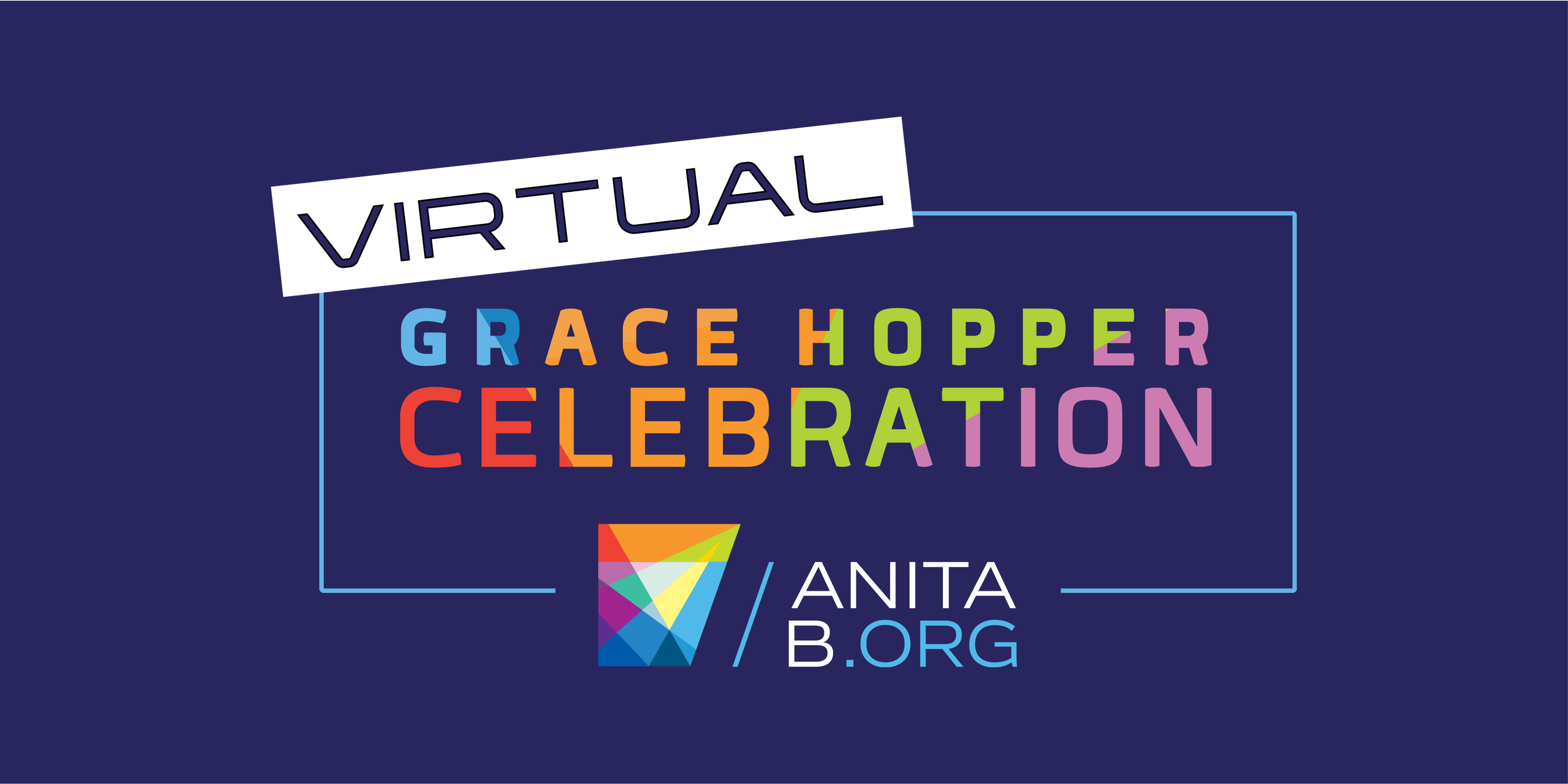 Virtual Grace Hopper Celebration Logo