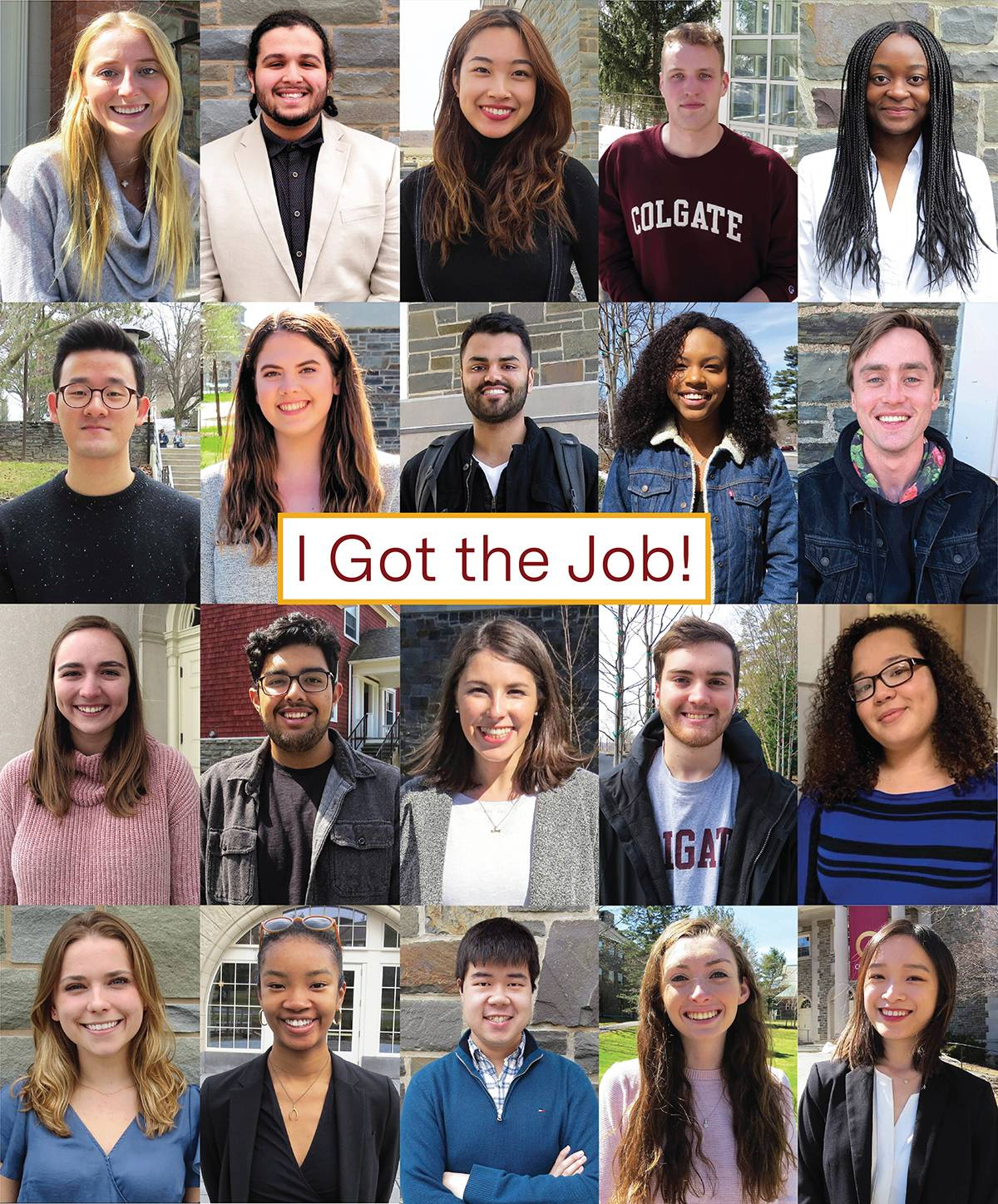 Photo of I Got the Job participants