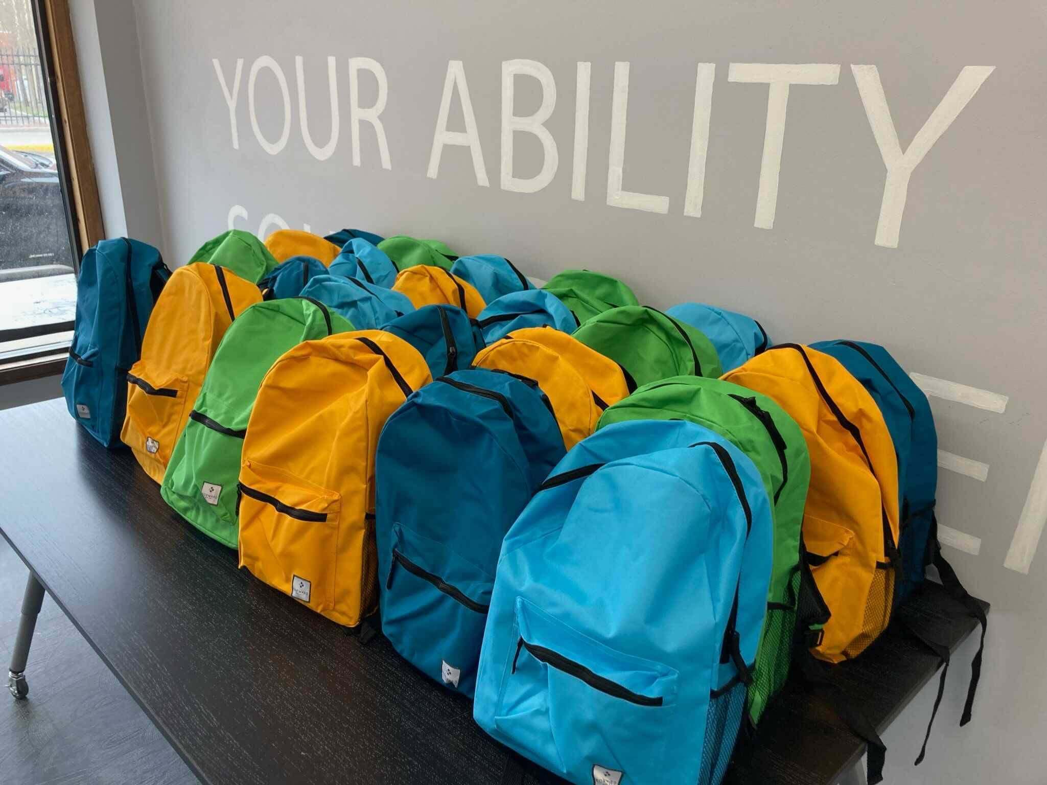 Backpacks created by Backpacks for Kids