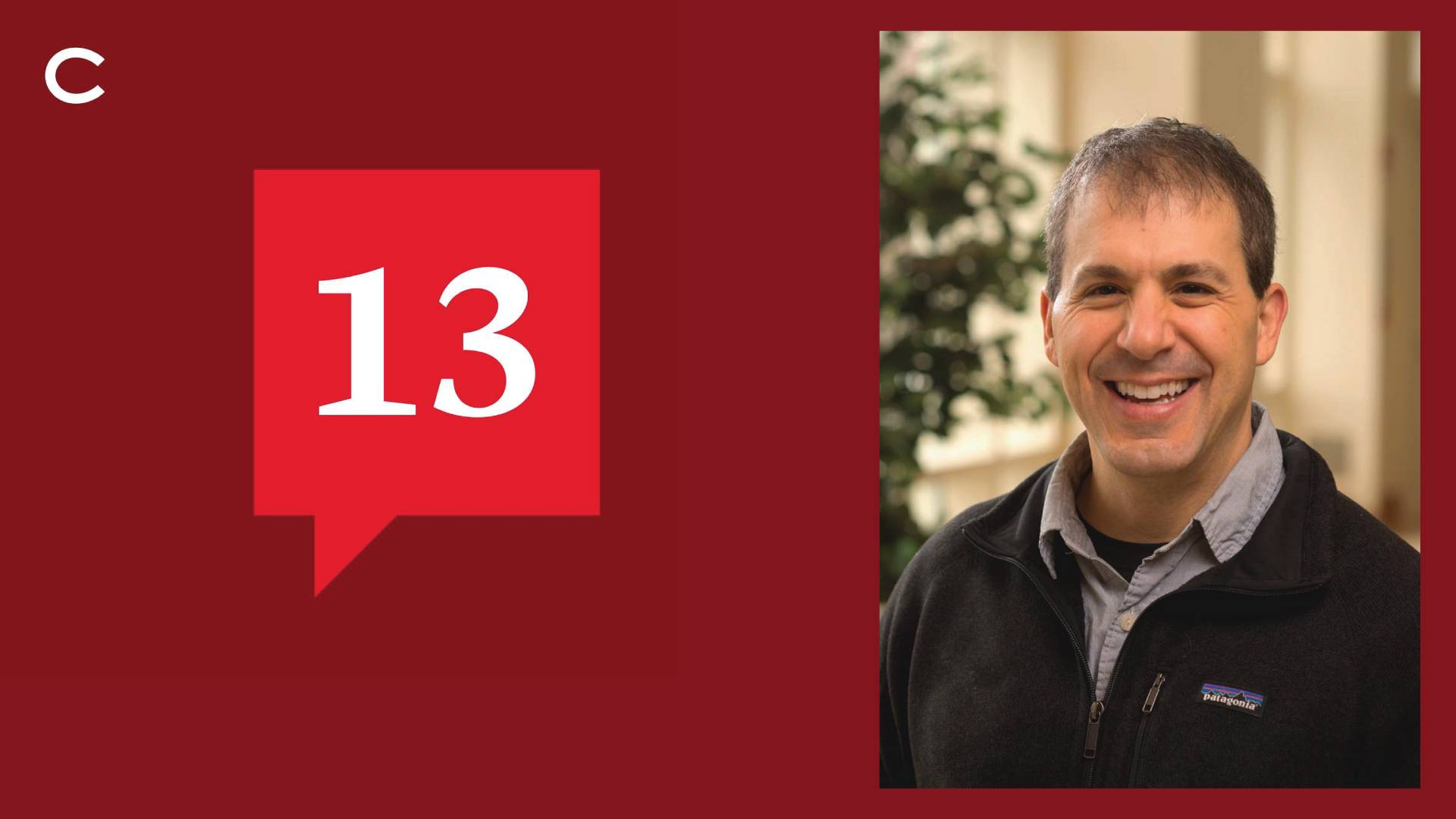 Colgate Director of Sustainability John Pumilio is the latest community member to be featured on Colgate's newest podcast, 13.
